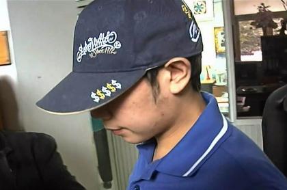 Vorayuth Yoovidhya, buscado por Interpol, aparece en una captura de fotograma de un video tomado el 3 de septiembre de 2012 y recibido de Thai PBS a través de AFPTV el 1 de septiembre de 2020.