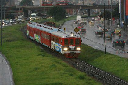 Imagen que ilustra nota del Tren de la Sabana que arrolló a 2 personas en el norte de Bogotá