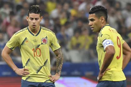 James Rodriguez y Falcao García con la Selección Colombia, alineación confirmada para partido con Venezuela en Eliminatorias