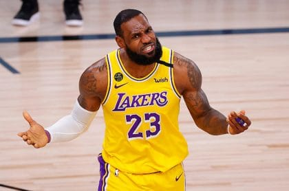 Trump insulta a basquetbolista LeBron James