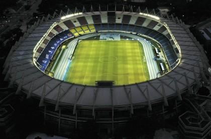 Pillan a hinchas colados en estadio de Colombia-Venezuela, el Metropolitano de Barranquilla.
