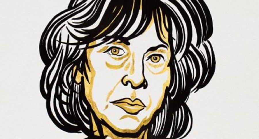 Imagen de la poetisa Louise Glück, a propósito se su Premio Nobel de Literatura.