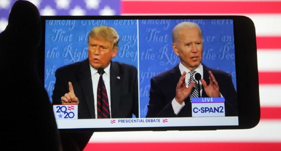 Donald Trump y Joe Biden, candidatos presidenciales de Estados Unidos.