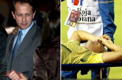 Broma de Hassam sobre lesión de Arias.