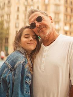 Foto de Evaluna y Ricardo Montaner, a propósito de la nostalgica foto del cuarto de su hija