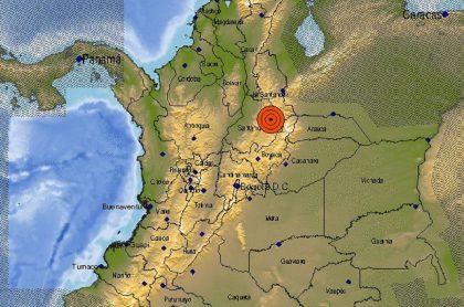 Temblor en Colombia este domingo 11 de octubre