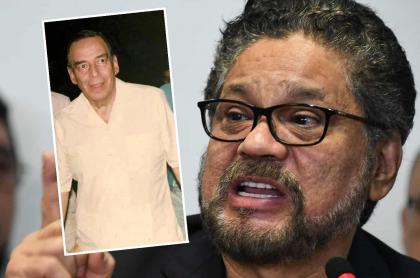 Álvaro Gómez Hurtado e Iván Márquez, que habría planeado decir que Farc mató a Gómez Hurtado para desprestigiar el acuerdo de paz