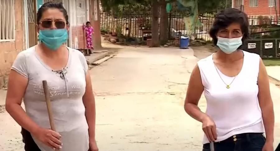 Madres en Soacha patrullan calles para reducir delincuencia.