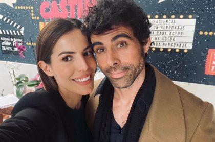 Foto de Cristina Warner y Emmanuel Esparza, quienes anunciaron su separación