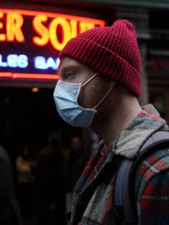 Liverpool en medio de la pandemia del coronavirus.