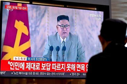 Kim Jong-un lloró durante discurso en desfile militar