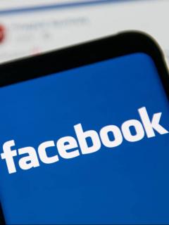 Logotipo de Facebook para ilustrar nota sobre las estafas más comunes en esta red social y cómo evitarlas