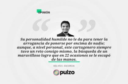 Frase destacada sobre columna de Manuel Vega