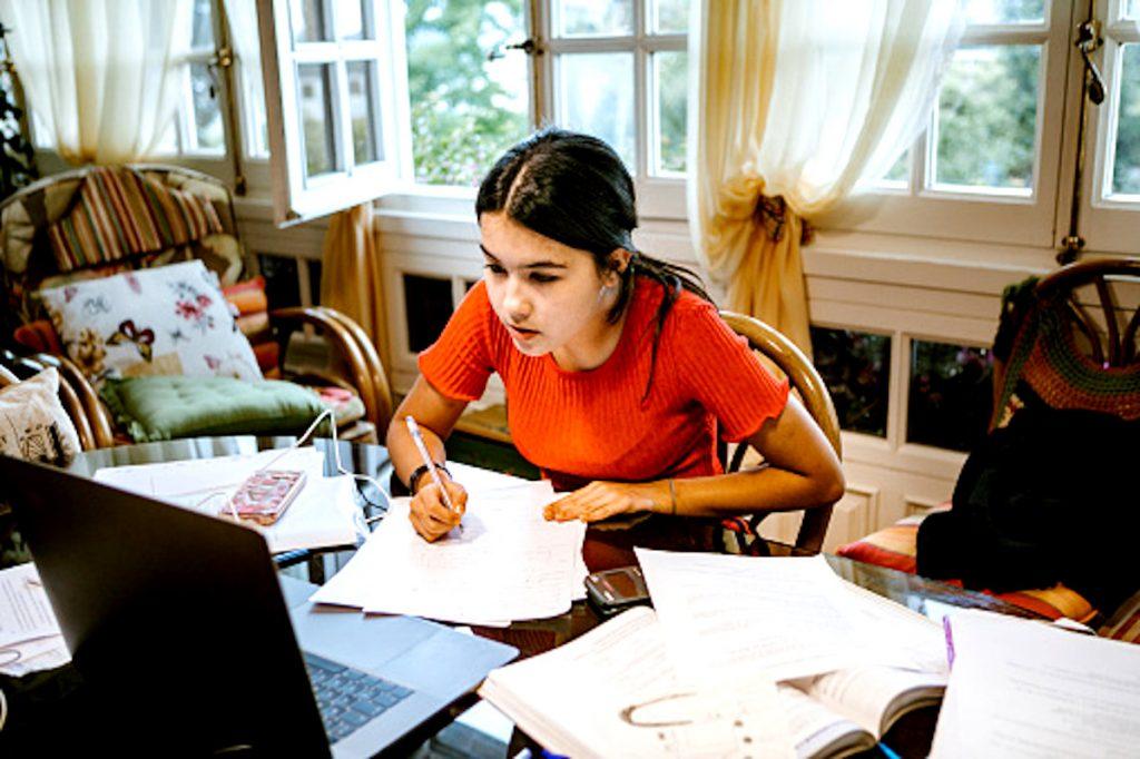 Getty / Estudiante colombiana en España.