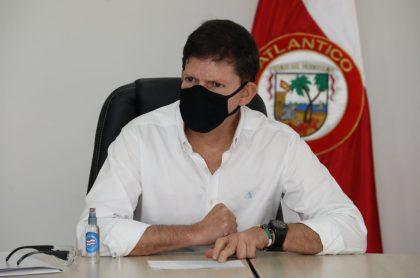 Wilson Ruiz, ministro de Justicia, al que le pidieron declararse impedido para investigar la reventa de boletas de la Federación Colombiana de Fútbol.
