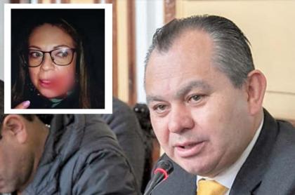 Imagen de la mujer que denunció que concejal la golpeó; él respondió