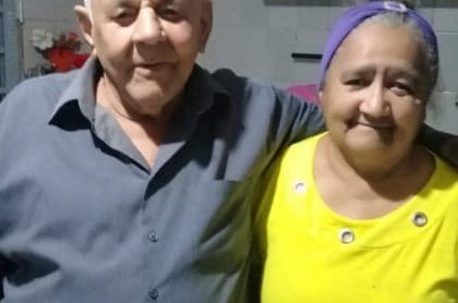 Pareja de esposos que murió el mismo día en Brasil por COVID-19