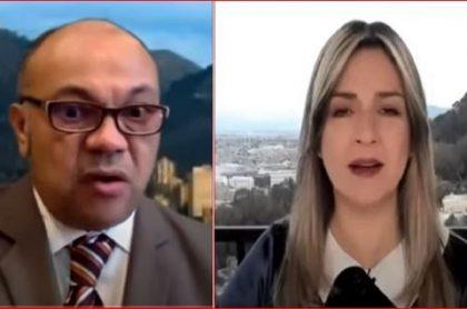 Luis Alonso Colmenares habló de la muerte de su hijo, Luis Andrés Colmenares, en entrevista con Vicky Dávila