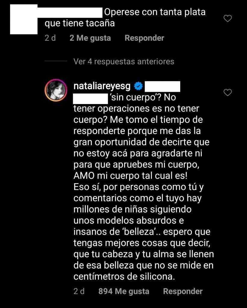 Instagram: @nataliareyesg