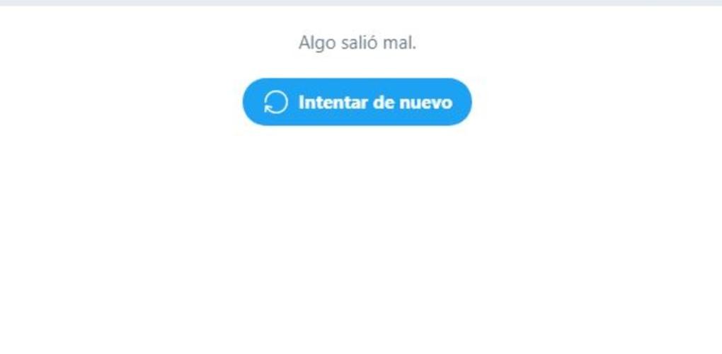 Caída Twitter 15 de octubre