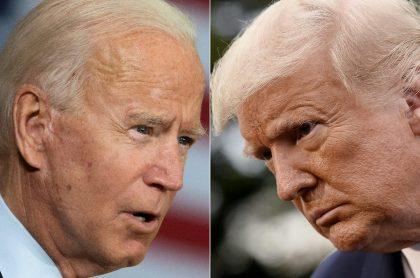 Trump y Biden sostendrán duelo, que no es debate