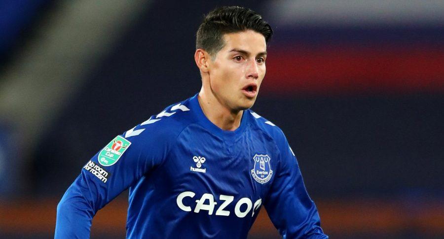 James Rodríguez, Everton vs. Liverpool: hora y ver en vivo