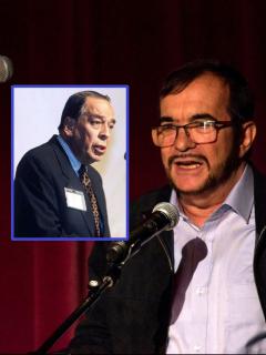 Álvaro Gómez Hurtado y 'Timochenko', que dijo que decidieron confesar el magnicidio del líder conservador en La Habana