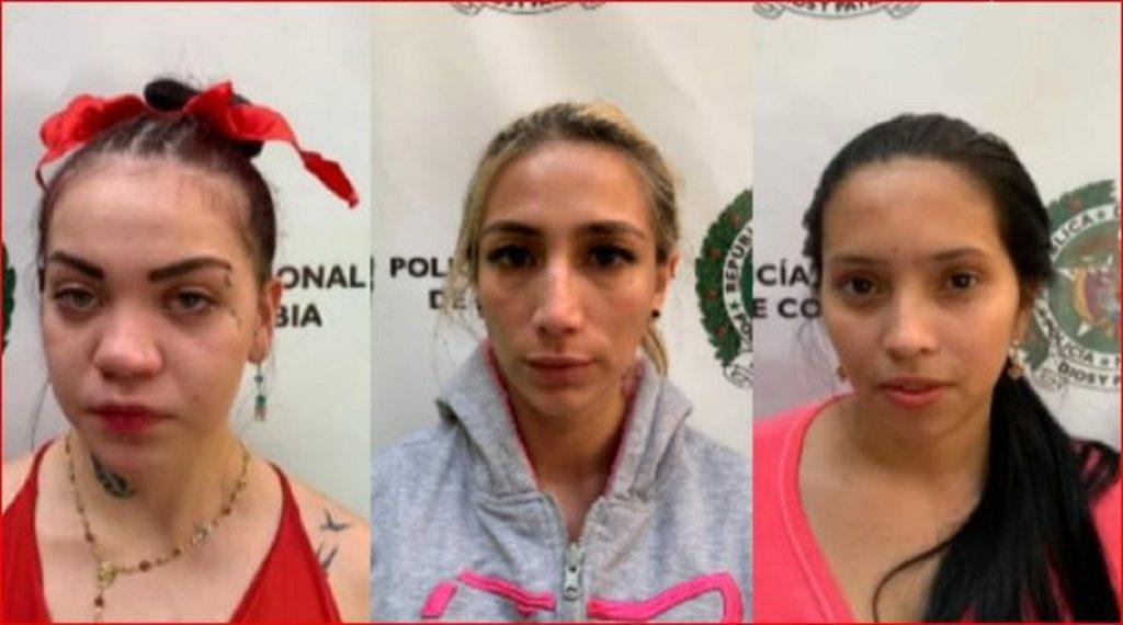 Mujeres judicializadas por drogar y robar a 2 extranjeros en Medellín / Foto: Fiscalía-Alerta Paisa