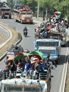 El Distrito se hará cargo de la logística para la llegada de la minga a Bogotá.