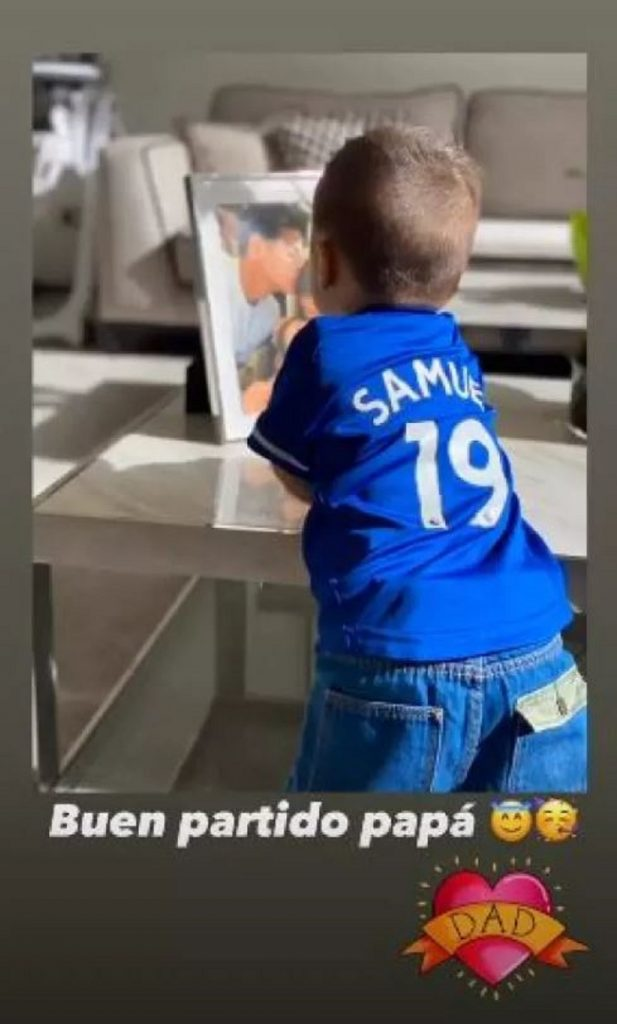 Samuel, hijo de James Rodríguez - @marjajua14