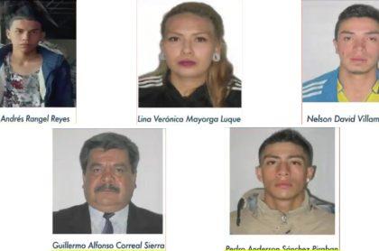 Imagen de los presuntos infiltrados que habrían atacado los CAI