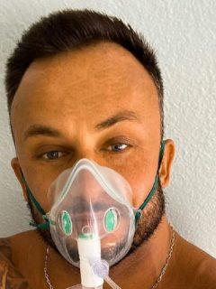 Dmitriy Stuzhuk en su última publicación en Instagram, antes de morir por coronavirus.