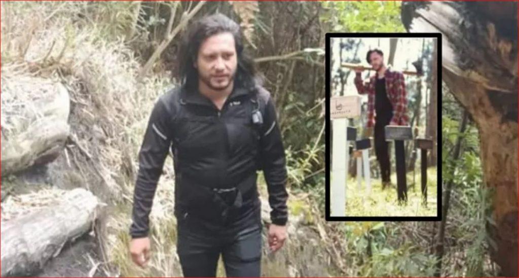Hombre que agredió a su pareja con un hacha en Bogotá - Facebook Oscar Salazar