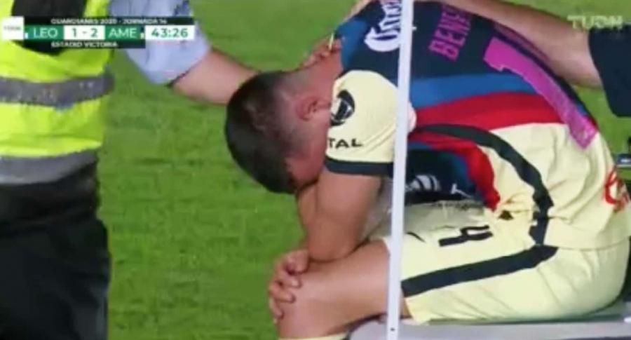Nueva lesión de Nicolás Benedetti con América de México
