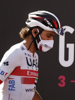 Fernando Gaviria, que se volvió a contagiar de coronavirus y salió del Giro de italia