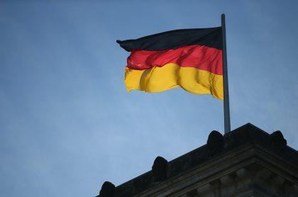 Bandera de Alemania para ilustrar nota sobre los requisitos para trabajar allá y las profesiones más solicitadas