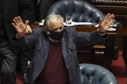 Expresidente uruguayo JoséMujica renuncia a senado y política.