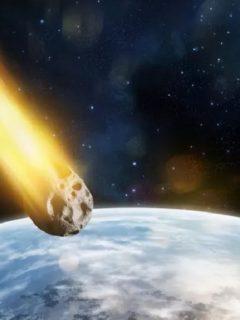Imagen de referencia de asteroide, que podría chocar contra la Tierra en noviembre.