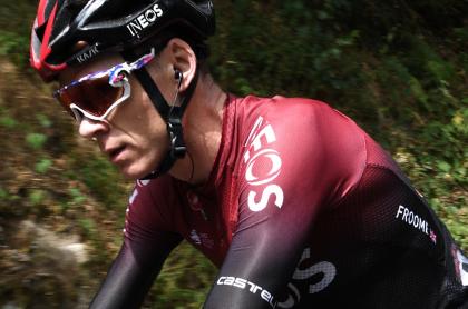 Froome, descolgado en etapa 1 de la Vuelta a España. Imagen de referencia.