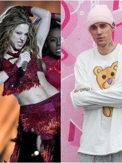 Fotomontaje de Shakira y Justin Bieber, a propósito de que ella se declaró 'belieber'