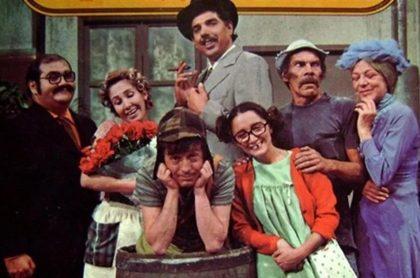 Foto del elenco de 'El Chavo del 8', a propósito de que salieron a la luz imágenes inéditas