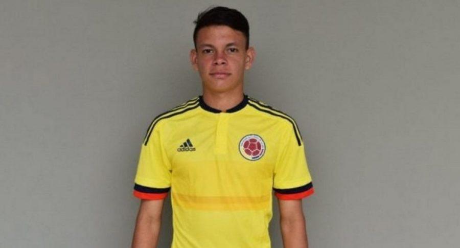 Harlen Santiago García Hernández, jugador de Selección Colombia-17, falleció luego de desplomarse en pleno partido.