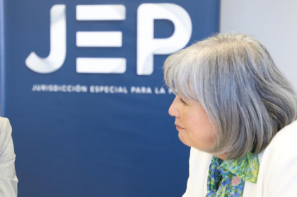 Patricia Linares, presidenta de la Jurisdicción Especial para la Paz (JEP):