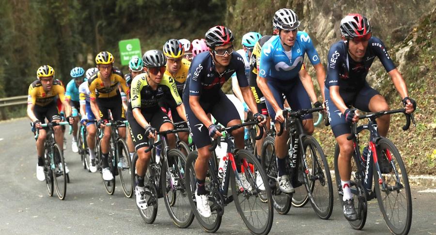 Pelotón de la Vuelta a España 2020, Etapa 2 en vivo, minuto a minuto
