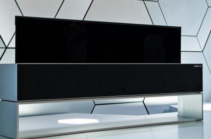 Televisor enrollable de LG: LG SIGNATURE OLED TV R