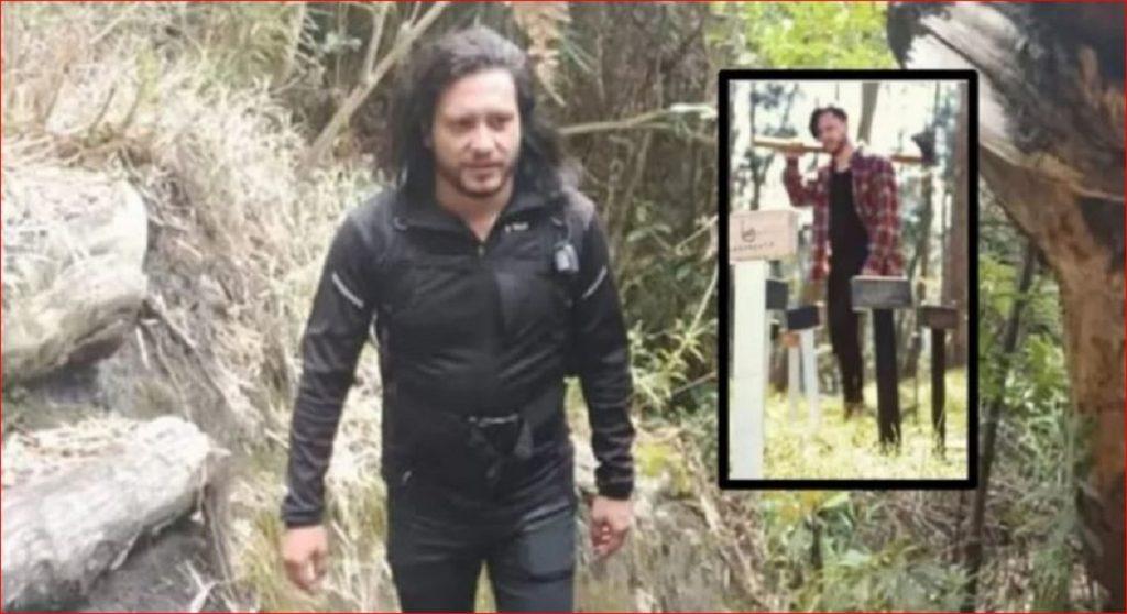 Miguel Camilo Parra, acusado de atacar con un hacha a Ángela del Pilar Ferro - Fotos: Facebook Óscar Salazar.
