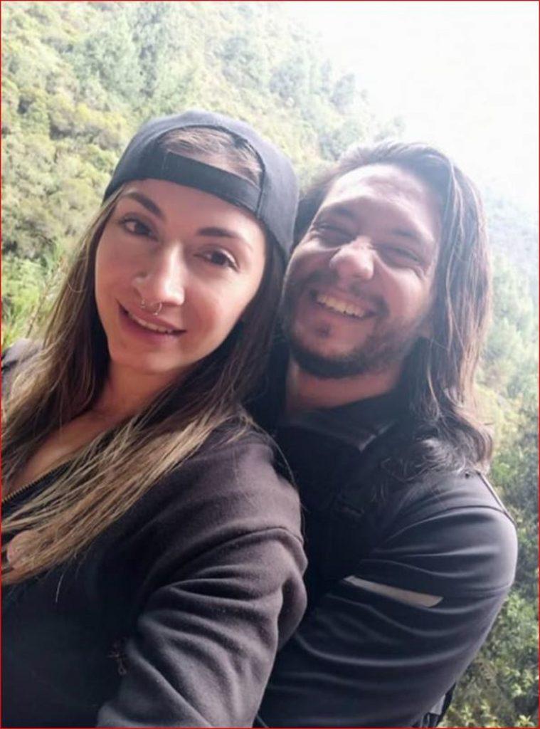 Miguel Camilo Parra, acusado de atacar con un hacha a Ángela del Pilar Ferro en Bogotá - Fotos: Facebook Óscar Salazar.