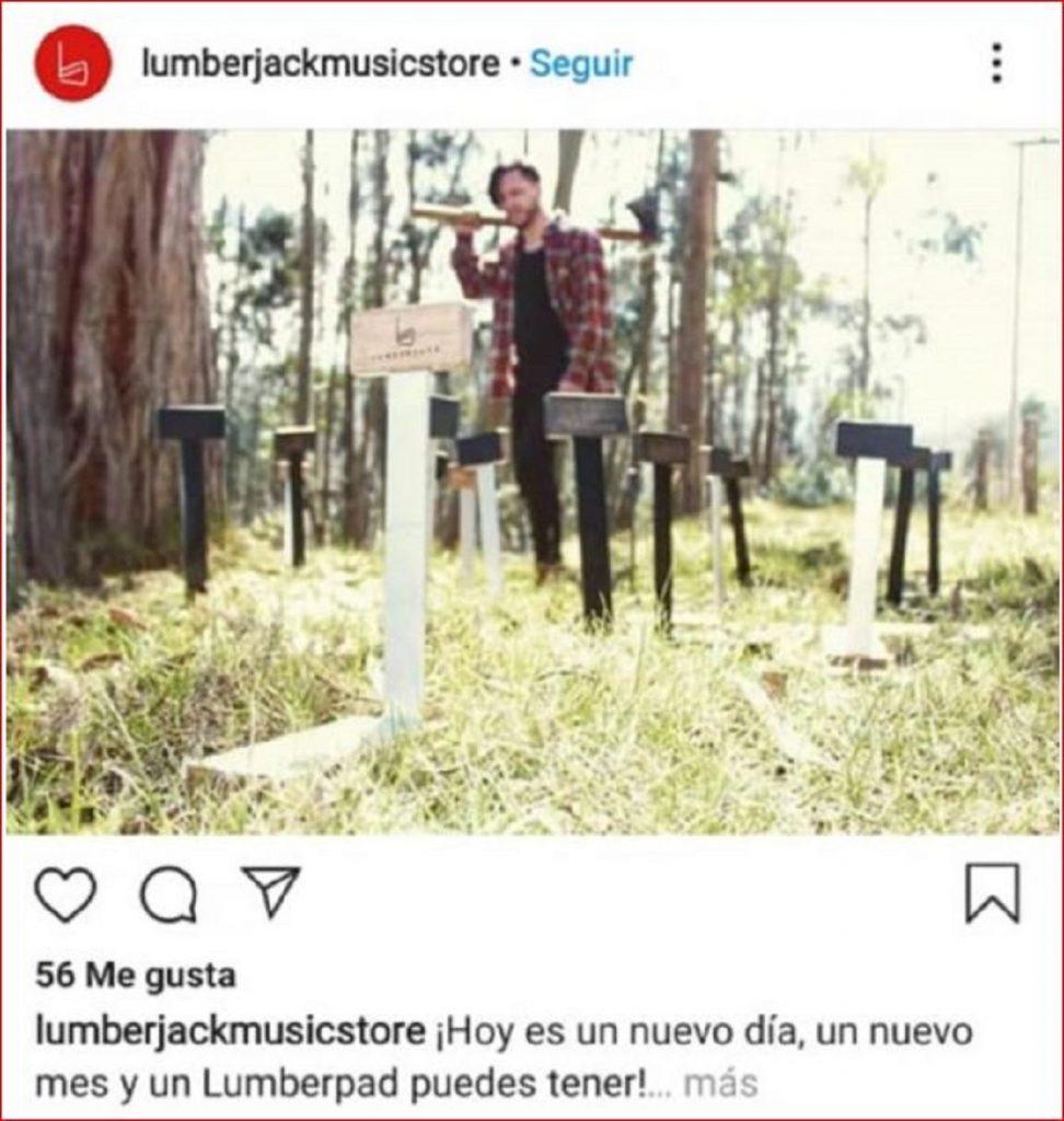 Miguel Camilo Parra, acusado de atacar con un hacha a Ángela del Pilar Ferro en Bogotá - Facebook: Óscar Salazar