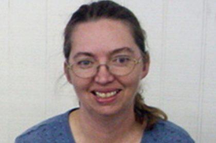 Lisa Montgomery, quien será ejecutada por matar a una embarazada de 8 meses y robarle el bebé.