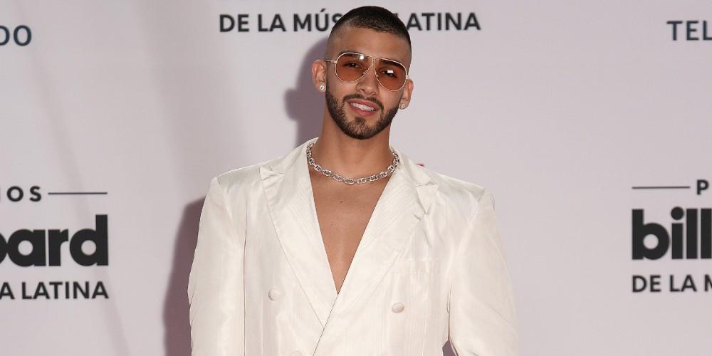 Manuel Turizo en los Latin Billboard 2020